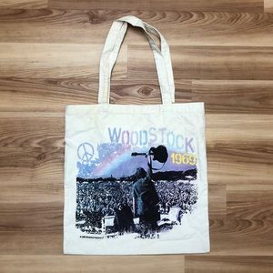 Woodstock 1969 tote bag